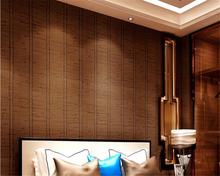 beibehang High quality Chinese 3D PVC imitation bamboo wall paper hotel fashion personalized papel de parede 3d wallpaper behang