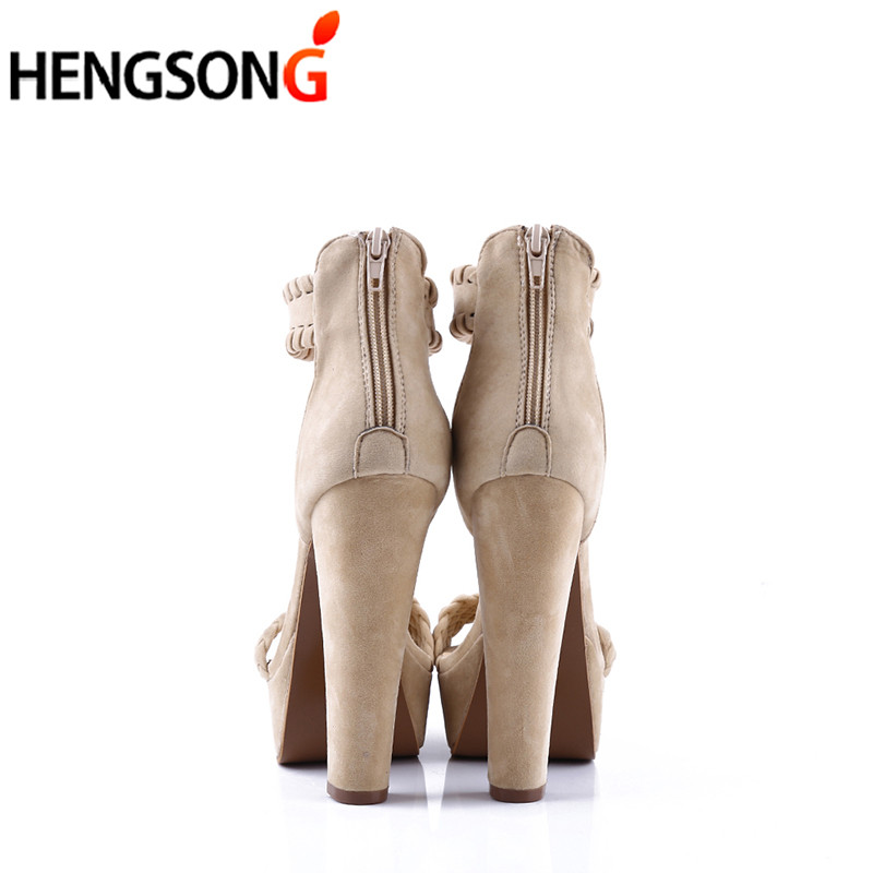 553bf8a1ba9f 2018 New Women s Fashion Sexy Sandals Summer Shoes High Heel Peep ...