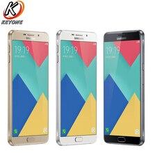 "Nouvelle D'origine Samsung GALAXY A9 A9100 4G LTE Mobile Téléphone 6.0 ""4 GB RAM 32 GB ROM Snapdragon 652 Octa Core 16.0 M 5000 mAh Dual SIM"