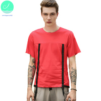 Fashion 2017 Summer Men S Solid O Neck T Shirt Male Short Sleeved Light Casual Tees