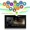 """7 """"Android 5.1 Quad core 1.6 GHz ROM 16G HD 1024*600 de la Pantalla 2 DIN coche DVD GPS Player Radio Estéreo con 3G WIFI USB Cámara Trasera"""