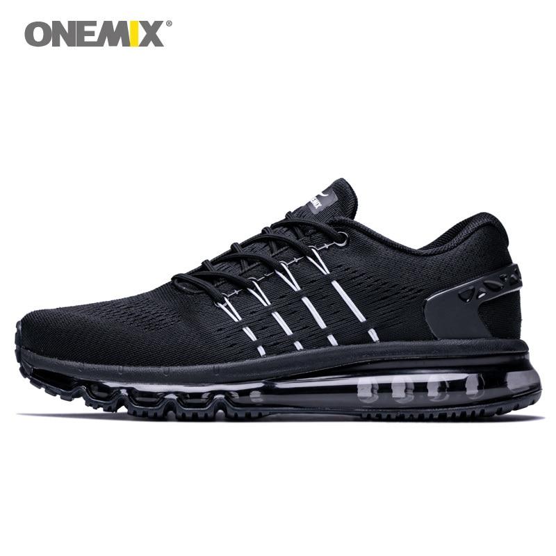 ONEMIX Men Running Shoes For Men Slant Tongue Outdoor Antislip Sneakers Cool Light Breathable Soft Jogging Walking Sport Shoes