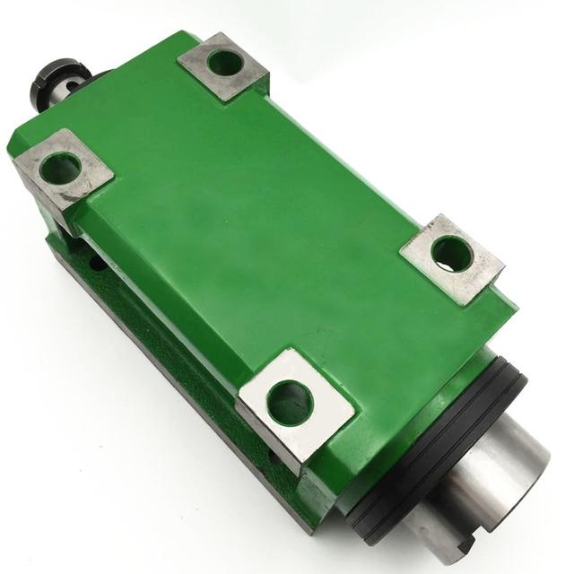 BT40 Chuck 3000W 3KW 4hp Power Head Cutting/Boring/Milling Machine Lathe Tool Spindle Head Max.3000 6000RPM High Speed