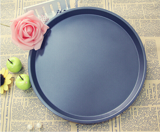 1PC 10 Inch Carbon Steel Pizza Pan Cooking Tools Pizza Stone Mold Kitchen Accessories Baking Tools Nonstick Oven Pan JC 0502 in Pizza Tools from Home Garden