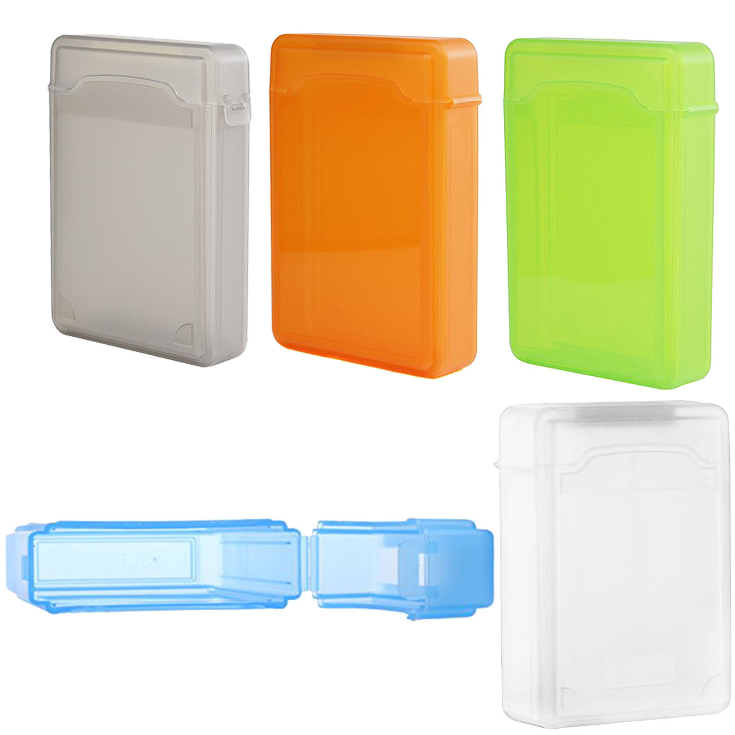 3.5 Inch for IDE HDD SATA Hard Drive Case Protector Plastic Storage Box