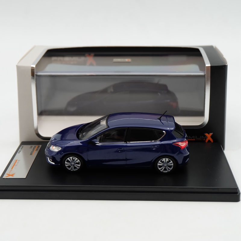Premium X 1:43 Nissan Pulsar 2015 PRD533J Limited Edition Collection Resin Auto Models siku внедорожник jeep wrangler с прицепом для перевозки лошадей