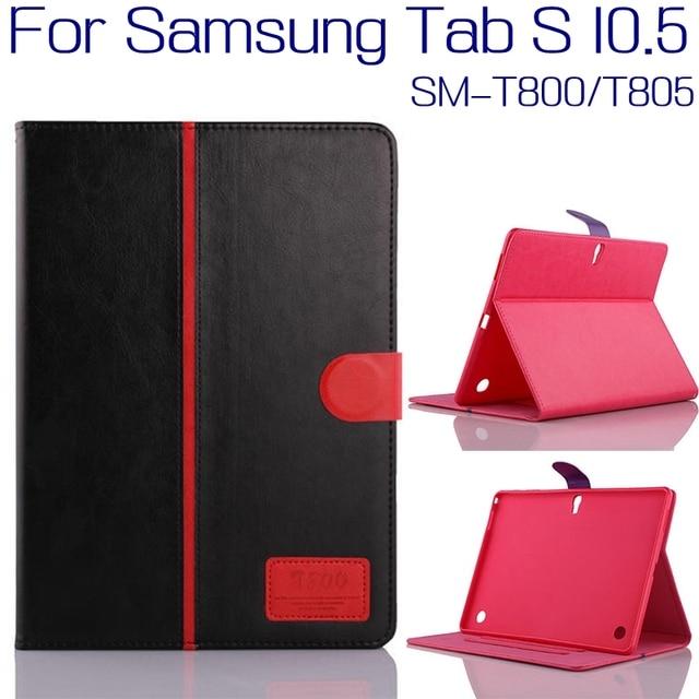 3 in1 Высокое Качество Стенд PU Кожаный Чехол Case для Samsung Galaxy Tab S 10.5 T800 T801 T805 Tablet + Free Screen протектор + Pen