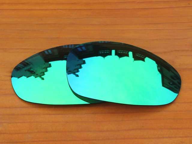 Emerald Green Mirror Polarized Replacement Lenses For Juliet Sunglasses Frame 100% UVA & UVB Protection