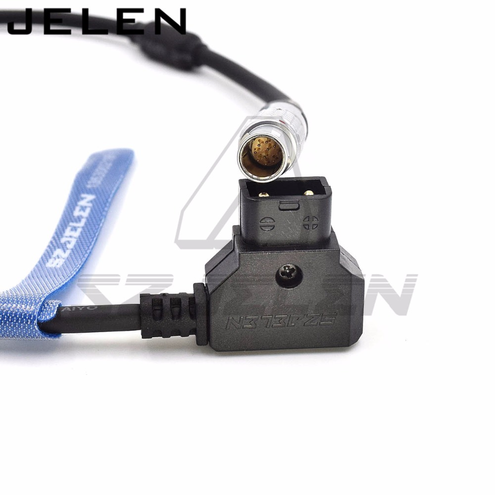 High quality D-Tap to FGG 1B 10pin Cable for ARRI Wireless Focus Motor cmotion Power Cable d tap to lemo connector fgg 1b 10pin power cable for cmotion wireless focuser compact one power cord