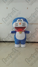 Popular doraemon/duo la A dream cartoon mascot costume