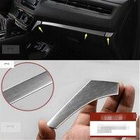 Lapetus Car Styling Central Control Instrument Panel Cover Trim Stainless Steel Fit For Honda HRV HR V Vezel 2014 2015 2016 2017