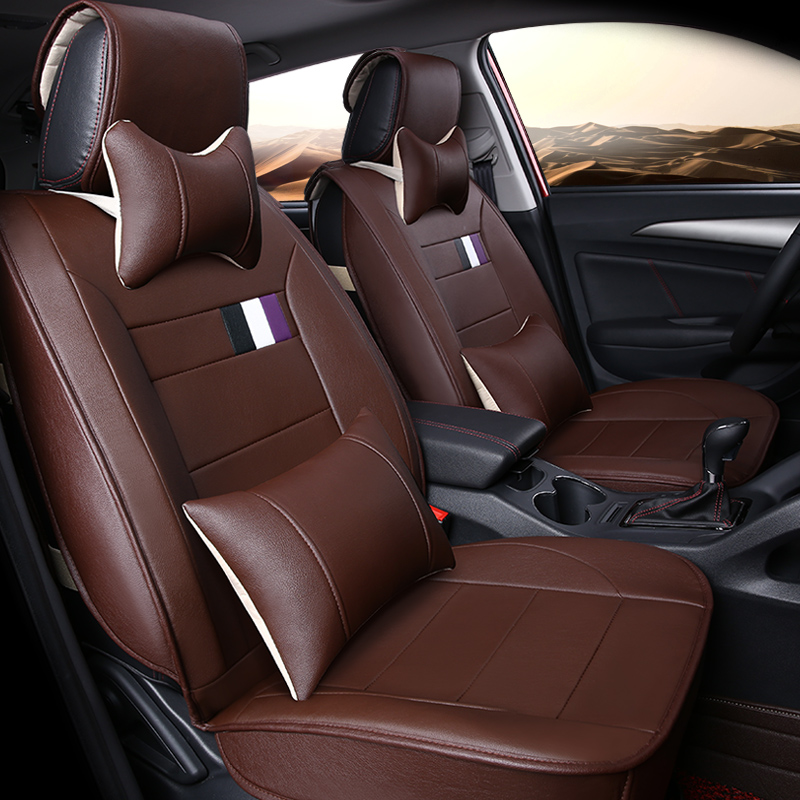 Gift New Luxury Sport Microfiber Leather Car Seat Cover Universal