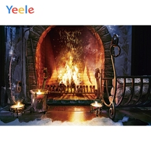 Yeele Fireplace Wallpaper Bedroom Decoration Wood HePhotography Backdrops Personalized Photographic Backgrounds For Photo Studio