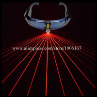 Hot Sale 1 pcs Red Laser Man Show Party Glasses Event & Party Supplies For Christmas Halloween DJ Club Free Shipping