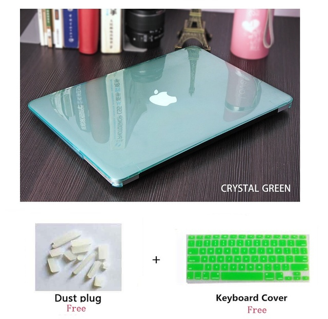 Crystal Hard Shell Case for MacBook 4