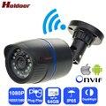 Câmera de CCTV IPC Holdoor WiFi Câmera de Rede Full HD de Visão Noturna De Vigilância De Vídeo IP IP65 À Prova D' Água para Android iOS Telefone