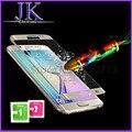 Ультра Тонкий 2.5D 9 H Закаленное Стекло 3D Full Screen Protector фильм Samsung Galaxy S6 Edge S6Edge Plus HD Закаленное Защитная фильм