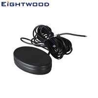 Eightwood Car Combined/Combo Amplified Remote GPS+GSM Fakra Antenna for Audi BNW