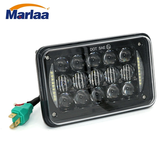 marlaa 1pcs 4x6 led headlights sealed beam spot lights for kenworth rh aliexpress com Kenworth T800 Wiring Spare Switch Kenworth T800 Wiring Diagram Symbols
