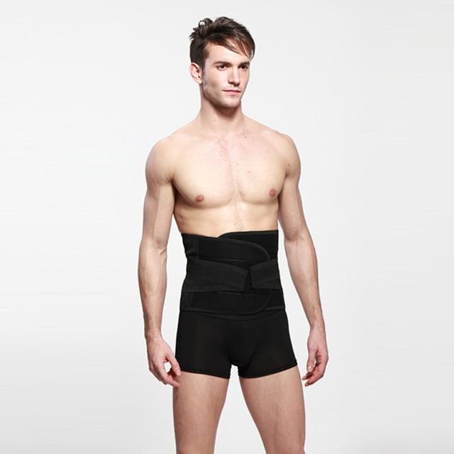 Men Slimming Body Shaper Underwear Waist Corsets,Belly Band Corset Waist Trainer Cincher Body Shaper Free Shipping
