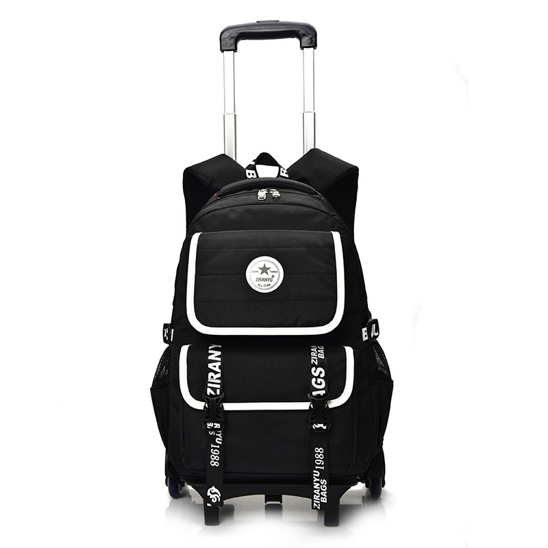 Hot Sale Removable Children School Bags For Boys Girls Child Trolley Backpack Kids Wheeled Bag Bookbag Mochila Infantil Escolar