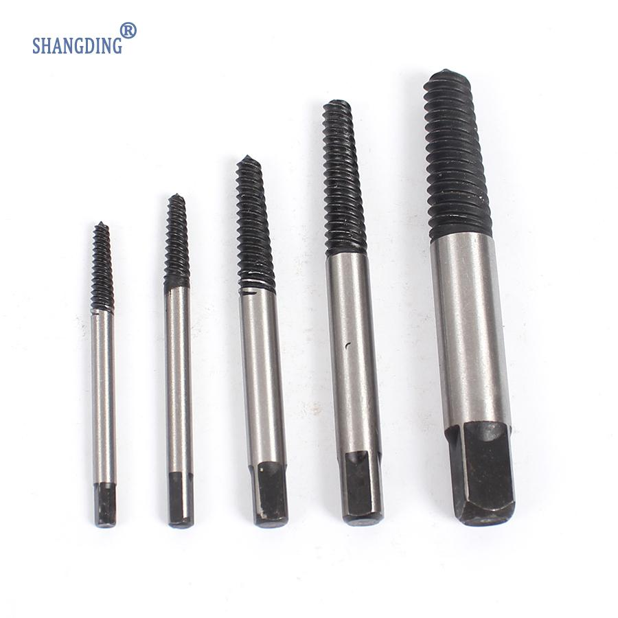 5PCS Gator Grip Screw Extractor Broken Bolt Remover Drill Guide Bits Set for Screwdriver screw extractor