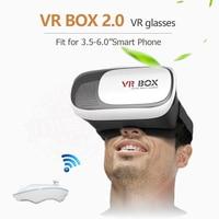 2017 New Google Cardboard HeadMount VR BOX 2 0 VR Virtual 3D Glasses For 3 5