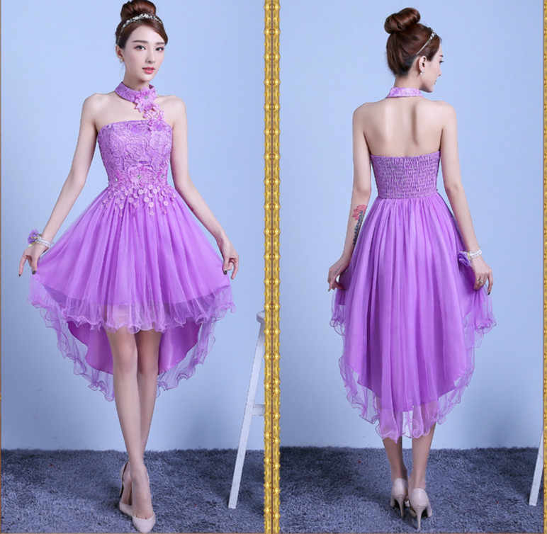 ... Sweet Memory low high bridesmaid dresses for performance party wedding  dress SW0050 a47713b203f5