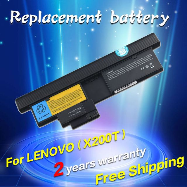 JIGU 3R9257 42T4565 42T4658 42T4827 Replacementl laptop Battery For Lenovo ThinkPad X200t x201t X200 Tablet 2266 7448 7450
