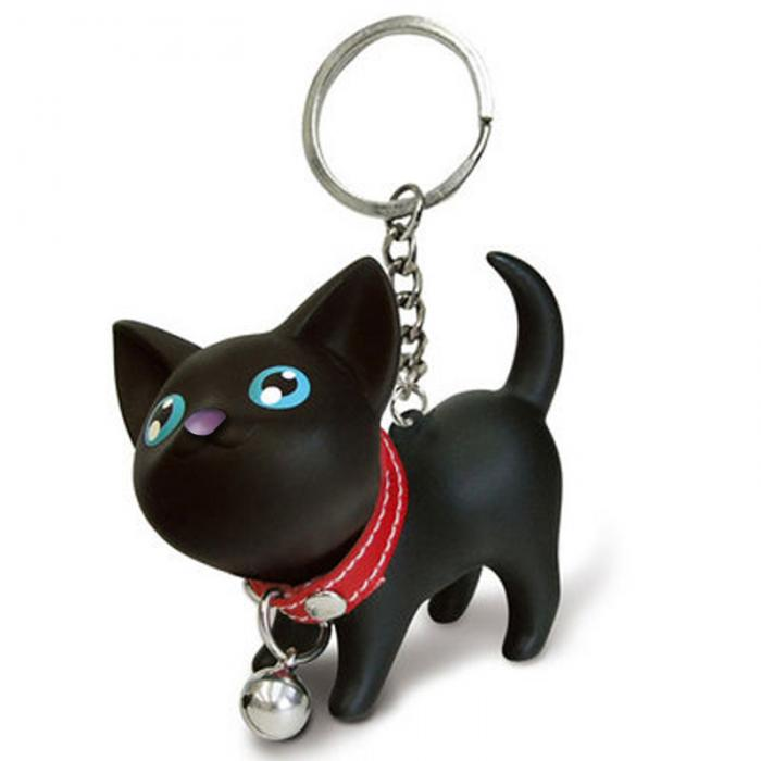 Awesome 3D Cat Keychain