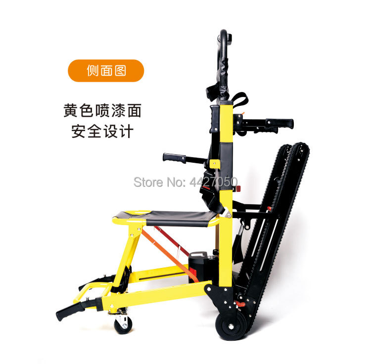 Fashion high quality lithium battery foldable electric up and down stairs climb stairs font b wheelchair