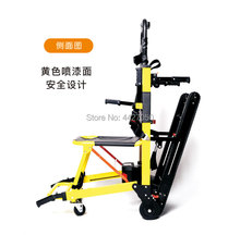 Fashion high quality lithium battery foldable electric up and down stairs climb stairs wheelchair disabled elderly wheelchair