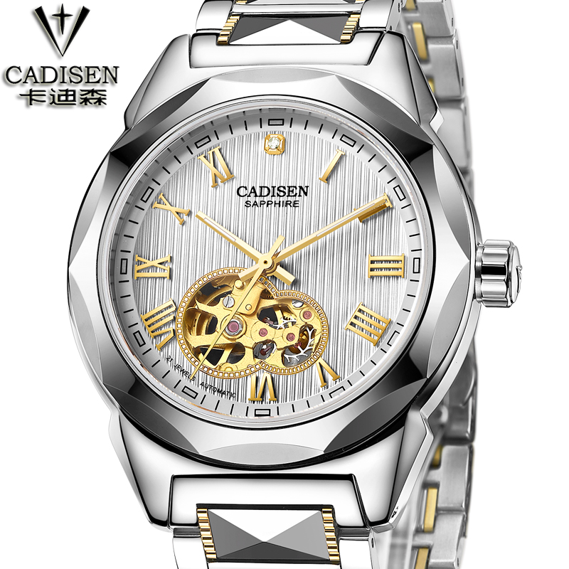 Fashion Men's Brand Sport Watch Tungsten steel Skeleton Automatic Mechanical watches men Steampunk Military Clock male New fashion men s brand sport watch stainless steel skeleton automatic mechanical watches men steampunk military clock male new