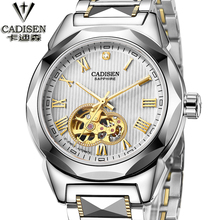 Fashion Men's Brand Sport Watch Tungsten steel Skeleton Automatic Mechanical watches men Steampunk Military Clock male New