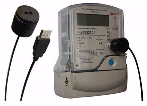43b084ca1d6 Cabo usb para energia elétrica medidor óptico infravermelho sensor de  leitura de código de protocolo em Transmissão   Cabos de Segurança e  proteção no ...