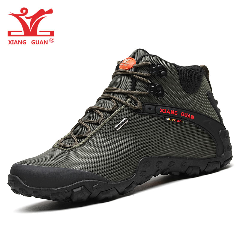 Men Hiking Shoes For Women Mesh Breathable Outdoor Trekking Boots Climbing Mountain Sports Trainers Army Green Walking Sneakers suoyue unisex sports outdoor hiking trekking shoes sneakers for women and men sport mesh breathable climbing mountain shoes