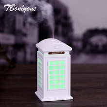 TBonlyone 300ML Air Humidifier Essential Oil Diffuser Aroma Lamp Aromatherapy Electric Aroma Diffuser Mist Maker for Home Office