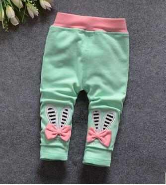 100% Cotton Baby Pants 2017 New Cartoon Pant for Baby Girl Spring Autumn Casual Newborn Baby Trousers