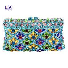 LaiSC abend handtaschen frauen party geldbörse luxus diamante soiree tasche paket damen prom monedero bankett handtasche SC201