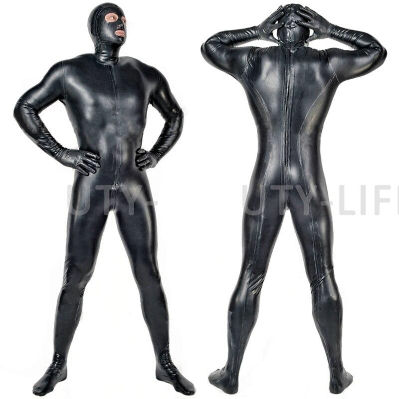 Collants Latex costume de corps catsuit couverture complète personnalisable, fait main et naturel grande taille