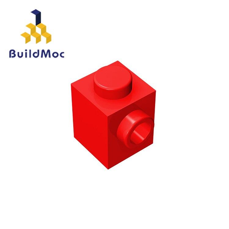 BuildMOC Compatible Assembles Particles 87087 1x1 For Building Blocks DIY LOGO Educational High-Tech Spare Toys