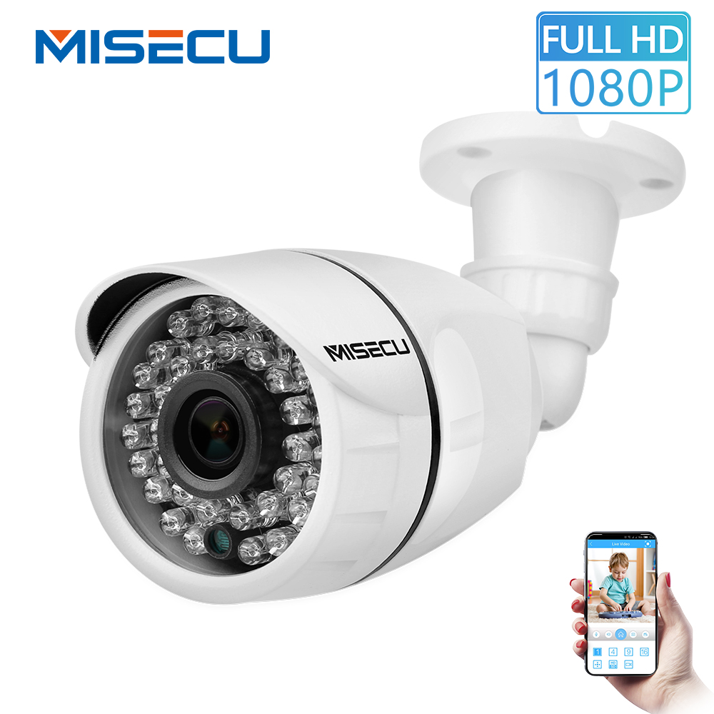 100% Quality Misecu Onvif Ip Camera 1080p 960p 720p Outdoor Waterproof Night Vision Surveillance Ip Camera Motion Detection Remote Access Skillful Manufacture
