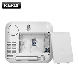 Image 4 - KERUI TD32 LED ekran kablosuz sıcaklık ayarlanabilir alarmlı dedektör sensörü ile uyumlu gsm ev güvenlik alarm sistemi