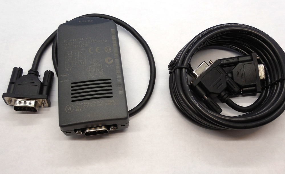 6ES7972-0CA23-0XA0 6ES7 972-0CA23-0XA0 SIMATIC PLC S7 300 400 PC/MPI OPTICALLY ISOLATED CABLE,HAVE IN STOCK