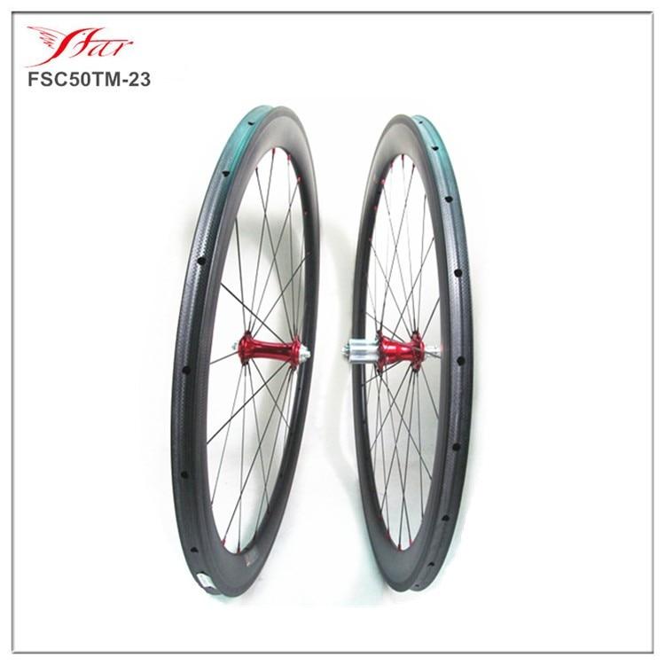 все цены на Chris King hub + Sapim  CX-Ray ! High end road bike 50mm wheels tubular 20/24H Farsports durable carbon wheels OEM accepted онлайн