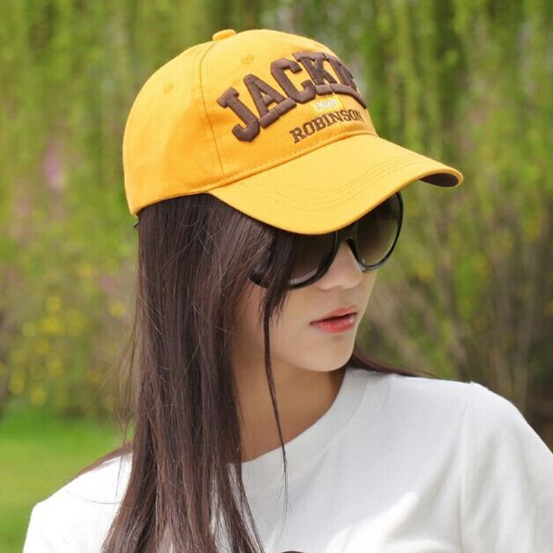 JACKIE Hats For Women Female Summer Baseball Caps Leisure Sunhat Sunscreen Cap 100% Cotton Retail jackie kay fiere