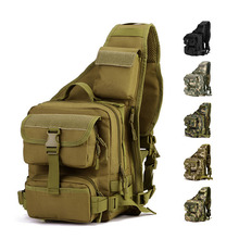 Men Tactics Large Messenger Bags Man Military Outside Nylon Chest Packs U.S Charge Packet Handbag Lady Waterproof Shoulder Bags