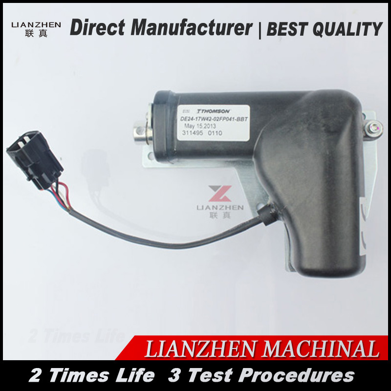 Hydraulic Excavator for Liugong 920D CLG920D Replacement parts throttle motor 37BD391Hydraulic Excavator for Liugong 920D CLG920D Replacement parts throttle motor 37BD391