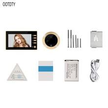 4.3 Inch LCD Color Screen Electronic Door Bell Viewer IR Night Door Peephole Digital Door Camera
