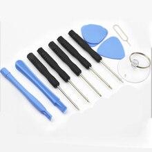 New 11 In 1 Cell Phones Opening Pry Mobile Phone Repair Tool Kit Screwdriver Set